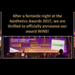 AestheticSource wins three prestigious awards at the AestheticsAwards 2017
