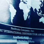 AestheticSource wins NeoStrata company Inc creative marketing effort award