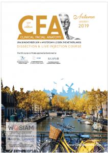 CFA AMSTERDAM – AUTUMN 2019