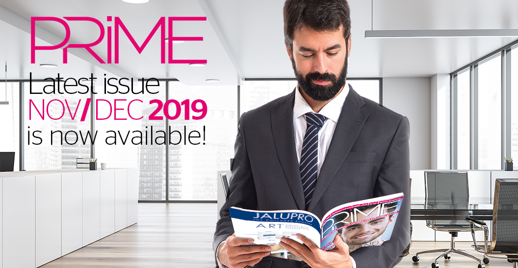 Enjoy your latest issue of PRIME